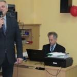 Dyrektor SP46 Tadeusz Badowski otwiera Turniej
