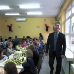 Dyrektor SP46 kibicował wszystkim uczestnikom